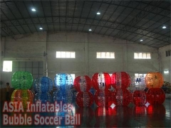 Various Styles Colorful Bubble Soccer Ball