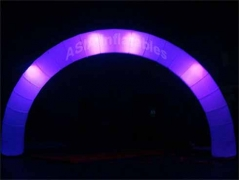 LED Lighting Inflatable Round Arch