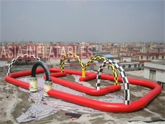 Hot Selling Air Sealed Painting Inflatable Race Track