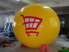 3m Yellow Branded Balloon