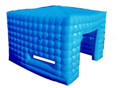 Blue Inflatable Cube Tent