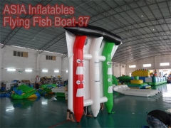 6 Seats Inflatable Flying Fish Boat