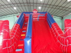 20 Foot Inflatable Spiderman Slide