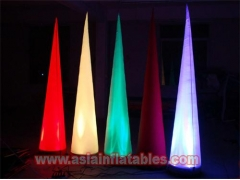 LED Lights Inflatable Cone