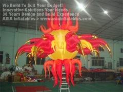 12 Foot LED Lighting Inflatable Star