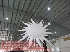 10 Foot LED Lights Inflatable Star