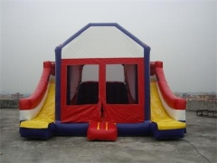 4 in 1 Dual Lane Bounce Haus Slide Combo