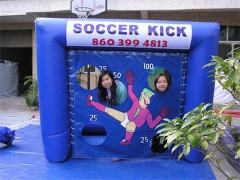 Inflatable Soccer Kick Game