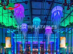 Remote Control Color inflatable jellyfish