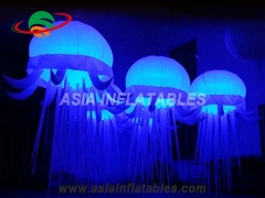 Led lighting giant inflatable jellyfish