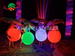 aufblasbarer interaktiver Ball mit LED-Licht