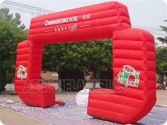 Red Brand Adevertising Inflatable Arch