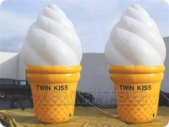 6mH Cute Inflatable Ice Cream Model