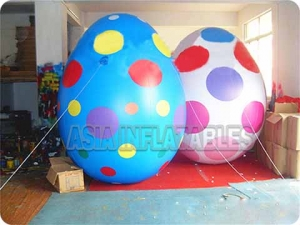 Colorful 2mH Inflatable Egg