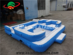 Inflatable Water Park Floating Island