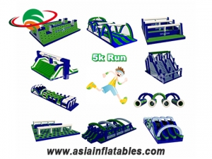 Innovative Factory Direct Insane Inflatable Obstacle 5k Adult Extreme Sport Inflatable 5k Run For Sale