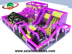 Colorful Inflatable Fun City Theme Inflatable Parks Inflatable Theme Park Manufacturers