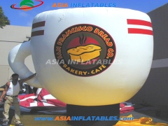 Inflatable Coffee Cup Model