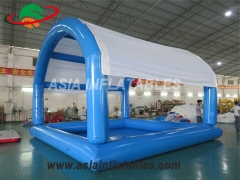 Inflatable Water Pool with Sunshade Tent
