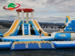 Inflatable Tower Slide Water Toys