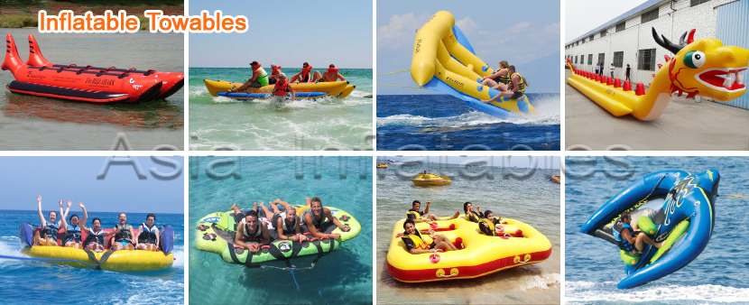 Towable Water Ski Tubes